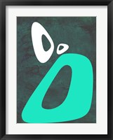 Abstract Oval Shape 5 Framed Print