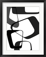 Abstract Rings 2 Framed Print