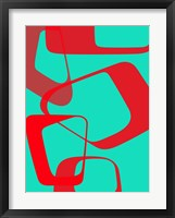 Abstract Rings 4 Framed Print