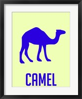 Framed Camel Blue