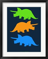 Framed Dinosaur Family 6