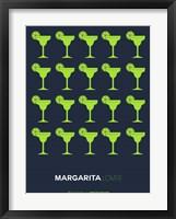 Framed Yellow Margaritas