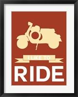 Framed I Like to Ride 1