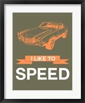 Framed I Like to Speed 2