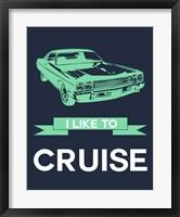 Framed I Like to Cruise 3