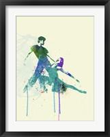 Framed Tango Couple