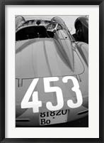 Framed Ferrari Back