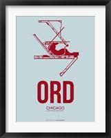 Framed ORD Chicago 3