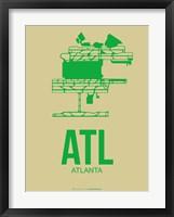 Framed ATL Atlanta 1