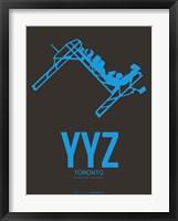 Framed YYZ Toronto 1