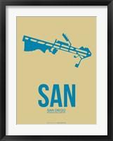 Framed SAN San Diego 3