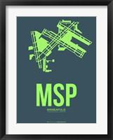Framed MSP Minneapolis 2