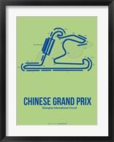 Framed Chinese Grand Prix 1