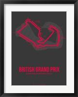 Framed British Grand Prix 2