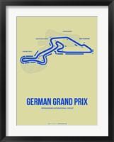 Framed German Grand Prix 2