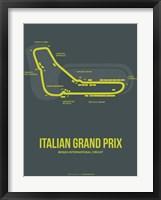 Framed Italian Grand Prix 2