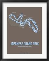 Framed Japanese Grand Prix 1