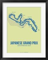 Framed Japanese Grand Prix 2