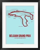 Framed Belgian Grand Prix 3