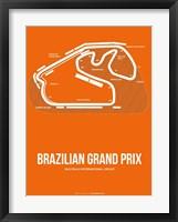 Framed Brazilian Grand Prix 3