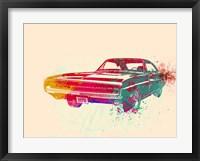 Framed 1967 Dodge Charger 1