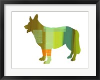 Framed German Shepard 1