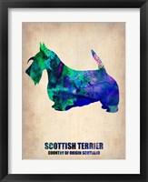Framed Scottish Terrier 2