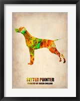 Framed Setter Pointer 2