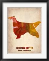 Framed Gordon Setter 1