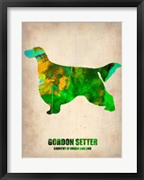 Framed Gordon Setter 2