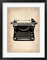 Framed Vintage Typewriter 2