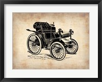 Classic Old Car 4 Framed Print
