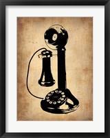 Vintage Phone 2 Framed Print