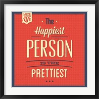Framed Happy Person