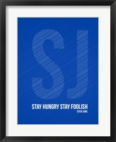 Framed Steve Jobs Quote