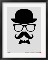 Framed Hats Glasses and Mustache 1