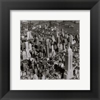 Framed New York Skyline Summer