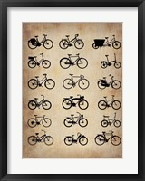 Framed Vintage Bicycles
