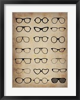 Framed Vintage Glasses