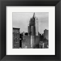 Framed New York Life Insurance Building