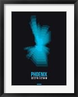 Framed Phoenix Radiant Map 3