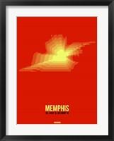 Framed Memphis Radiant Map 4
