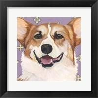 Framed Dlynn's Dogs - Teddy