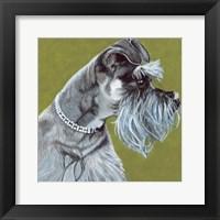 Framed Dlynn's Dogs - Zoee