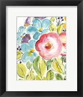Framed Flower Delight II