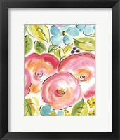 Framed Flower Delight III