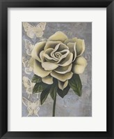 Blissful Gardenia II Framed Print