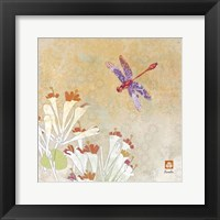 Framed Dragonfly Lustre I