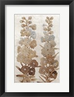 Wildflower Branch II Framed Print