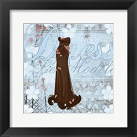 Framed Haute in Blue I